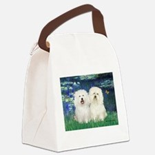 Lilies (#5) & 2 Bolognese Canvas Lunch Bag