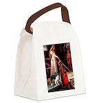 Accolade/Border Collie (Z) Canvas Lunch Bag