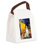 Terrace Cafe & Borzoi Canvas Lunch Bag