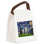 Starry Night Boston (#2) Canvas Lunch Bag