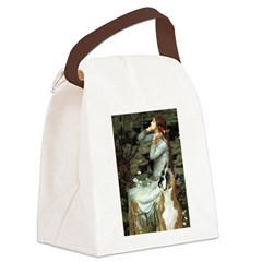 Ophelia & Boxer Canvas Lunch Bag