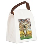 Spring with a Boxer Canvas Lunch Bag