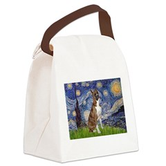 Starry / Boxer Canvas Lunch Bag