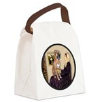 WMom - Boxer (D) Canvas Lunch Bag