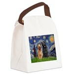 Starry - 2 Briards Canvas Lunch Bag