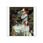 Ophelia /Brittany S Square Sticker 3