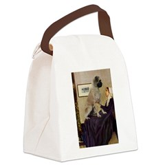 Whistler's / Bullmastiff Canvas Lunch Bag