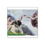 Creation / Bullmastiff Square Sticker 3