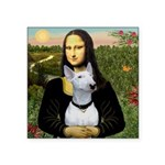 Mona's Bull Terrier Square Sticker 3