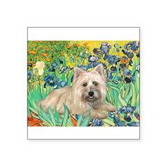 Irises/Cairn #4 Square Sticker 3
