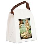 Venus / Cairn Terrier Canvas Lunch Bag