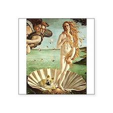 "Venus / Cairn Terrier Square Sticker 3"" x 3"""