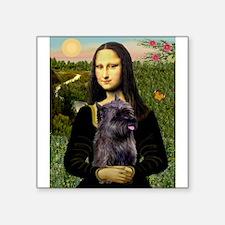 """Mona / Cairn T (brin) Square Sticker 3"""" x 3"""""""