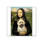 Mona / Cairn T (brin) Square Sticker 3