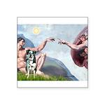 Creation / Catahoula Leopard Square Sticker 3