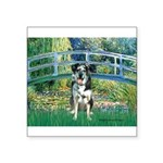 Bridge / Catahoula Leopard Dog Square Sticker 3