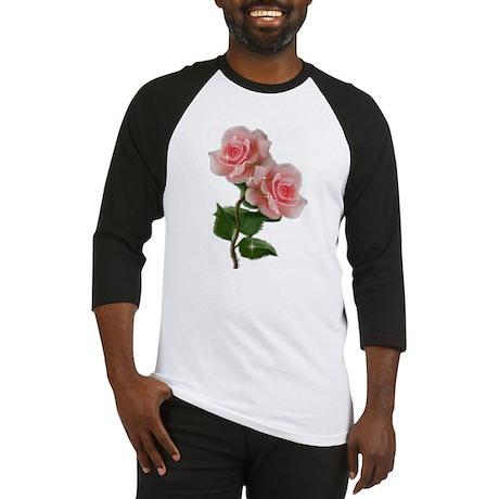 Pink Rose Baseball Jersey