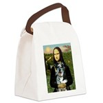 Mona's Catahoula Leopard Canvas Lunch Bag