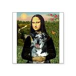 Mona's Catahoula Leopard Square Sticker 3
