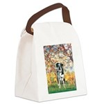 Spring / Catahoula Leopard Dog Canvas Lunch Bag