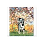 Spring / Catahoula Leopard Dog Square Sticker 3