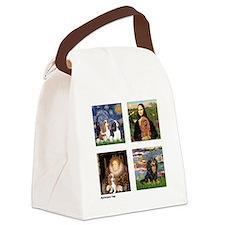 Cavalier Famous Art (clr) Canvas Lunch Bag