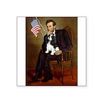 Lincoln & Tri Cavalier Square Sticker 3