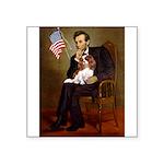 Lincoln's Cavalier Square Sticker 3
