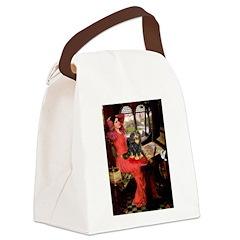 Lady & Cavalier (BT) Canvas Lunch Bag