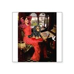 Lady & Cavalier (BT) Square Sticker 3