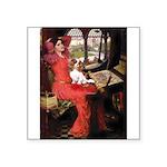 The Lady's Cavalier Square Sticker 3