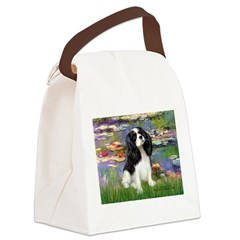 LILIES2-Cav-Tri52 .png Canvas Lunch Bag