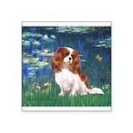 Lily Pond (#5) / Cavalier Square Sticker 3