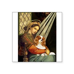 Madonna & Cavalier Square Sticker 3