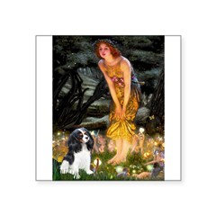Fairies / Cavalier Square Sticker 3