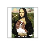 Mona's Cavalier Square Sticker 3