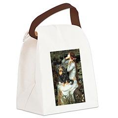 Ophelia & Cavalier (BT) Canvas Lunch Bag