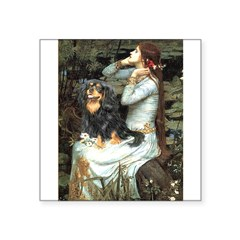 Ophelia & Cavalier (BT) Square Sticker 3