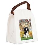 Spring & Tri Cavalier Canvas Lunch Bag