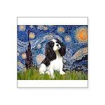 Starry Night Tri Cavalier Square Sticker 3