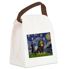 Starry Night Cavalier Canvas Lunch Bag