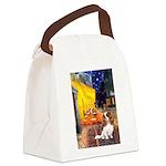 Cafe & Cavalier Canvas Lunch Bag