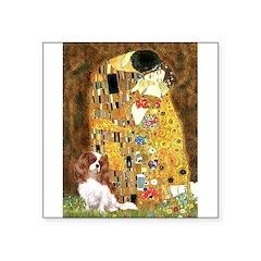 The Kiss & Cavalier Square Sticker 3