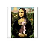 Mona / C Crested(HL) Square Sticker 3