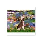 Lilies / C Crested(HL) Square Sticker 3