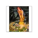 Fairies / Chow #1 Square Sticker 3