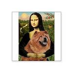 Mona / Chow Square Sticker 3