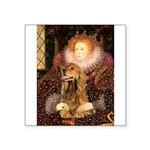 Queen / Cocker Spaniel (br) Square Sticker 3