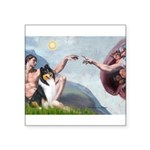 Creation / Collie Square Sticker 3