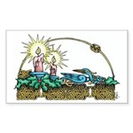Ophelia / Collie (tri) Puzzle Coasters (set of 4)